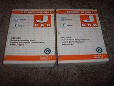 2005 Chevy Cavalier Pontiac Sunfire Workshop Shop Service Repair Manual Set 1-2