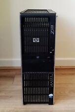 HP Z600 2 X E5530 2.40GHz Quad Core 20 Go 500 Go NVIDIA GTX460 station de travail au format Tour