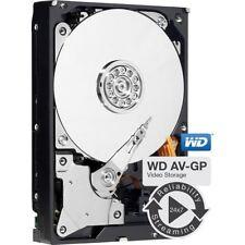 "WD AV-GP 1tb 3,5"" SATA - 600 64mb (WD 10 EURX) 1000gb audio video disco rigido"
