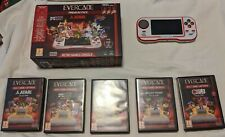 Evercade Premium Handheld Console With All Pack In Games And Mega Cat Studios...