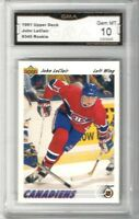 1991-92 Upper Deck #345 John LeClair RC | Graded GEM MINT 10