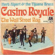 "HERB ALPERT & The Tijuana Brass – Casino Royale (1967 OST VINYL SINGLE 7"")"