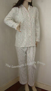 BNWT Blue Sea Long Sleeve Pyjamas 1508, Wyncette/100% Brushed Cotton