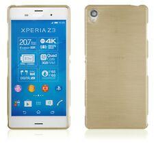 Schutzhülle für Sony Xperia Z3 Handy in Gold