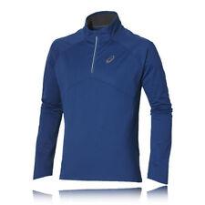 Abbiglimento sportivo da uomo antivento blu manica lunga
