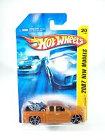 Hot Wheels 2007 New Models Chevy Silverado - Orange - NEW NOC with Protector Pak