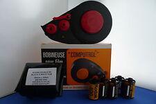 Nuevo Kit de cargador de película a granel 35mm Blanco y Negro 25ft Kodak Doble XX + Gratis 5 Cassettes vacíos