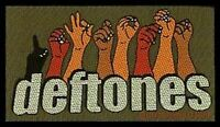 DEFTONES hands WOVEN SEW ON PATCH official merchandise - no longer made