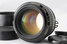 【Near Mint】Nikon Ai-S Nikkor 50mm f/1.2 w/Hood Ais MF Lens From Japan 281