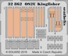 Eduard PE 32862 1/32 Vought os2u Kingfisher cinture di sicurezza KITTY HAWK