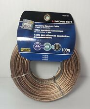 Monster 140282-00 Economy Speaker Cable, 16 AWG 2- Conductor 100ft / 30.5m