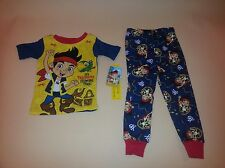 Jake and the Neverland Pirates Short Sleeve Toddler Boy Pajamas New 24 Months