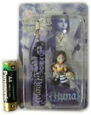 Final Fantasy X-2 Yuna Figure & Plate Strap Promo Japan