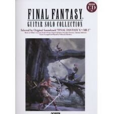 Final Fantasy Guitar Solo Collection X - XIII-2 sheet music book w/CD