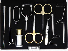 Fly tying tool kits, New! fly tying vice, Tools, Materials.