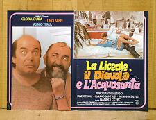 LA LICEALE IL DIAVOLO E L'ACQUASANTA fotobusta poster Gloria Guida Banfi BW43