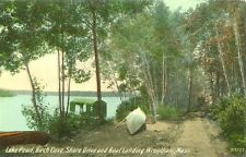 Wrentham,MA. Shore Drive & Boat Landing at Lake Pearl at Birch Cove