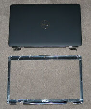 NEW DELL INSPIRON 1545 1546 LID COVER BLACK W/ HINGES WIRES w/ BEZEL M685J J454M