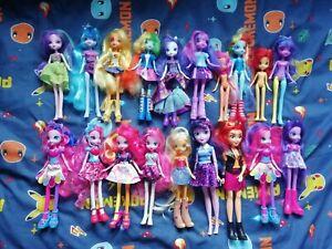 My Little Pony Equestria Girls Doll Bundle job lot pinkie twilight rarity X19