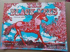 BLACK KEYS PRINT/POSTER Jake Bug S&N #75/225 Edmonton, Canada Gregg Gordon