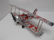 Aluminum soda can handcrafted airplane/DIET COKE-OLD /BI-PLANE