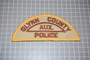 Glynn County Georgia Police Auxiliary Patch (US-Pol)