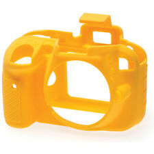 easyCover Protective Skin - Camera Cover for Nikon D3300 Camera (Yellow)
