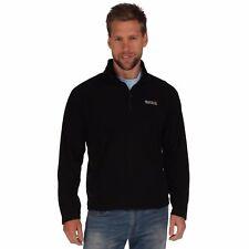 Regatta 2017 Mens Thompson Fleece Half Zip Pullover Rma021 Outdoor Hiking Layer M Black
