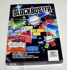"New ListingVintage Computer Game - Blockbuster (1987) 5.25"" Floppy Disk (Pc)"