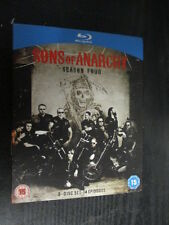 ***Sons of Anarchy - Season 4 Four (Blu Ray)*** FREE POST