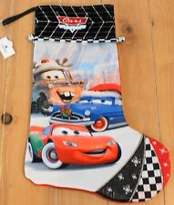 New Disney Parks CARS Land Lightning McQueen Mater Christmas Holiday Stocking