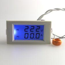 AC 50A LCD Digital Volt Watt Power Meter Ammeter Voltmeter 110V 220V Transformer