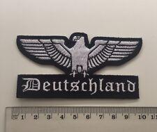 Reichsadler - Deutschland Aufnäher/Patch (Deutsches Reich,Germany,Adler,Rocker)