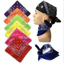 1PC Paisley Bandana Head Tie Headwear Hair Bands Scarf Neck Wrist Wrap Band