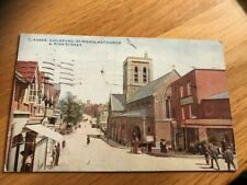 OLD POSTCARD  GUILDFORD  HIGH STREET   POSTED  1942