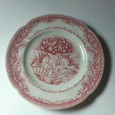 JOHNSON BROTHERS TWAS THE NIGHT BEFORE CHRISTMAS Bread & Butter Plates