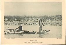07 BOURG-SAINT-ANDEOL PECHE A L' EPERVIER DANS LE RHONE IMAGE 1900