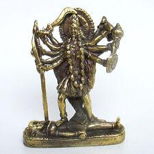 Kali Goddess Mini Statue Hindu Deity Amulet Parvati