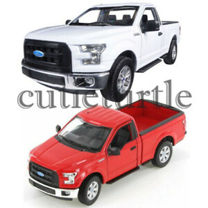 Welly 2015 Ford F-150 Regular Cab Pickup Truck 1:24 - 1:27 Diecast Car 24063-4D