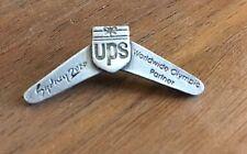 UPS Boomerang Sydney 2000 Olympic Sponsor Pin
