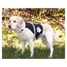 Chaleco perros luz flash reflectante neopreno M pecho 42-62 cm cuello 28-50 cm