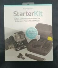 KitVision Action Camera Accessory Starter Kit, extension mount, go pro, New