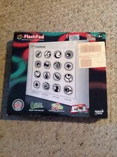 Pre Owned Flash pad Electronic Light And Touch Game, Complete, In Box.