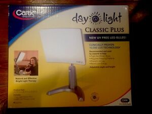 BRAND NEW Carex DL93011 Day-Light Classic Plus Therapy Lamp