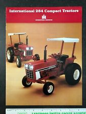 New ListingInternational Harvester Compact Tractors vintage advertising brochure 1983 8 pgs