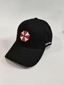 Resident Evil Umbrella Design Adjustable Cap, Unisex, Black, New