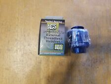 "ACS Crossfire 1"" External Threadless Sealed Bicycle Headset - Ano Blue"