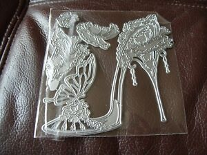 Metal Cutting Dies, Shoe works with carnation crafts - Carnation Shoe