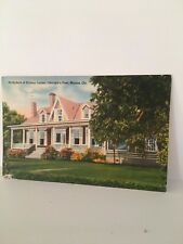 1951 The Sidney Lanier's Birthplace in Macon, GA PC  BOY'S TOWN STAMP