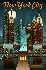 "New York City Tourist Attraction USA Photo Fridge Magnet 2""x3"" Collectibles"
